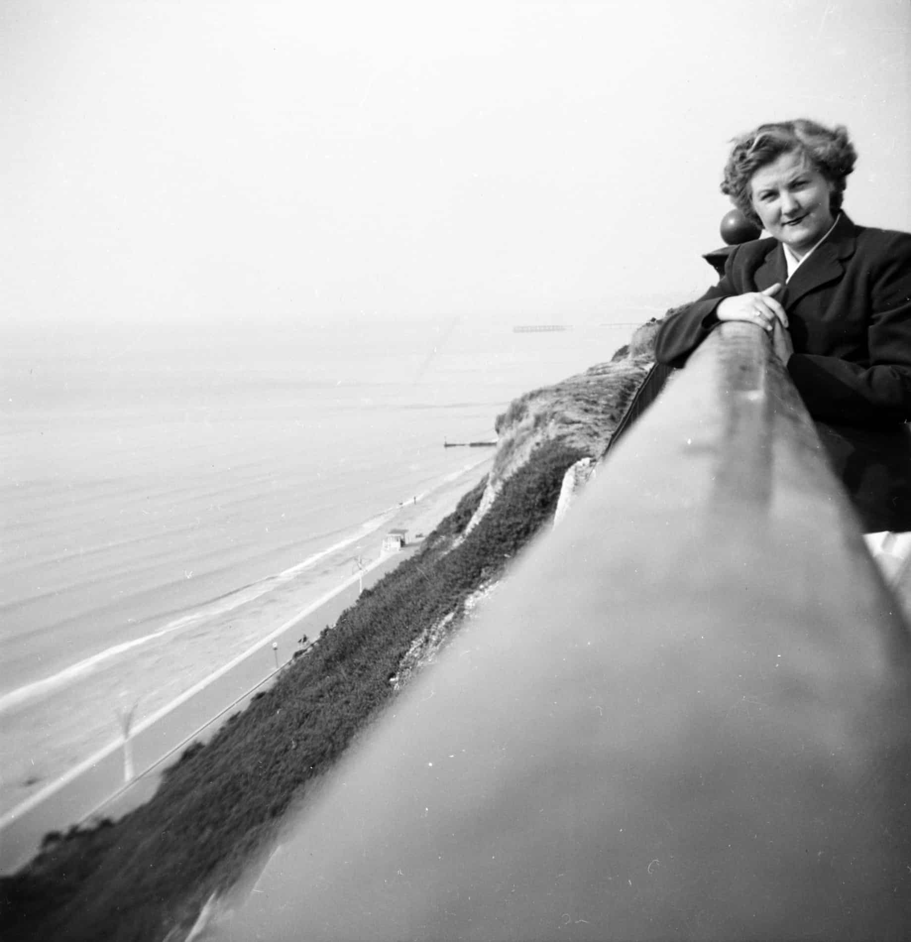 Sylvia Moss, Weymouth 1954. From the Ron Moss Collection