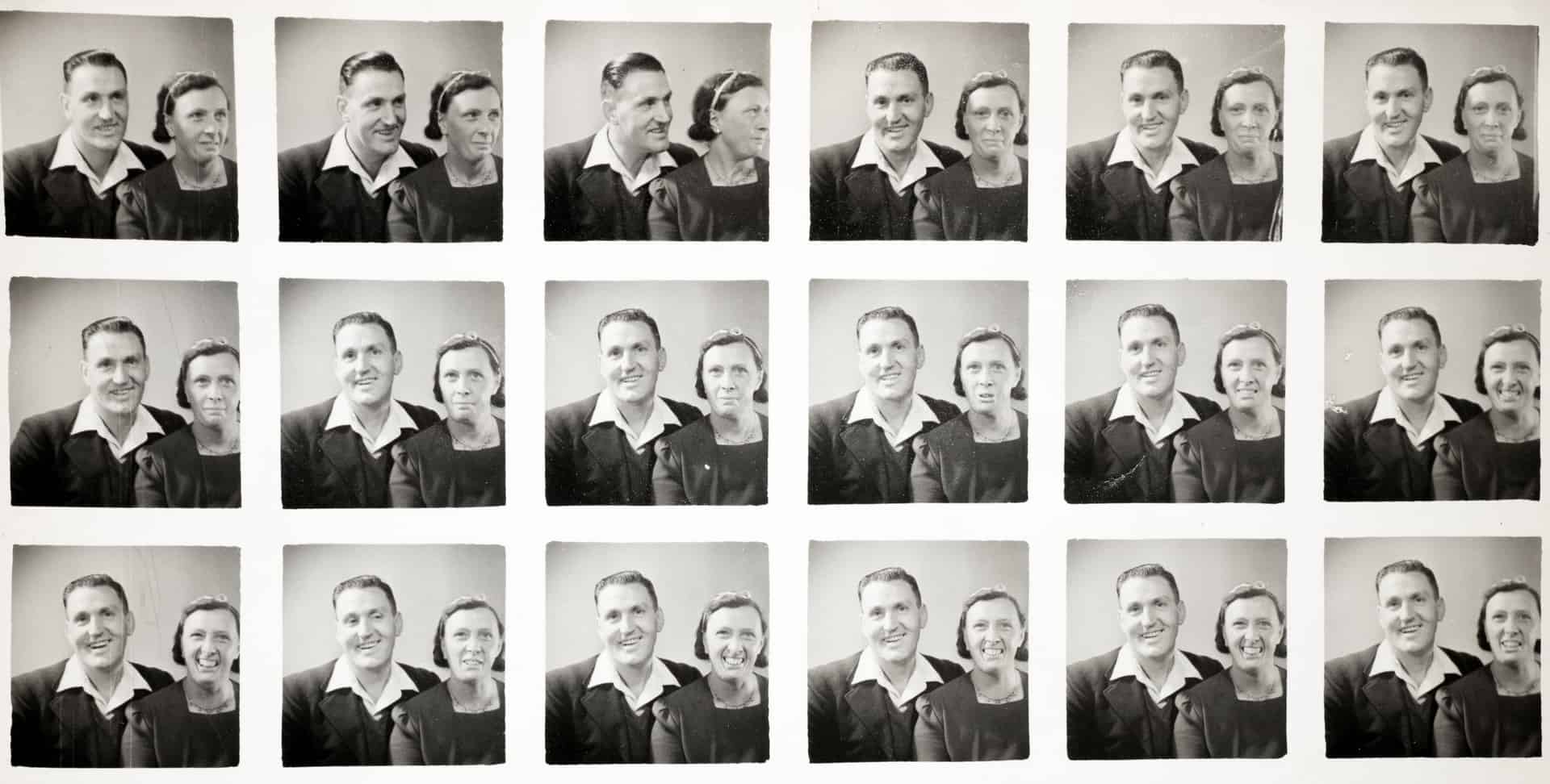 Will and Lucy King, Polyphoto Print c1940s