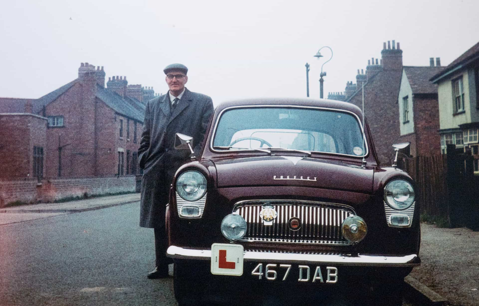 Will and his car, 1963