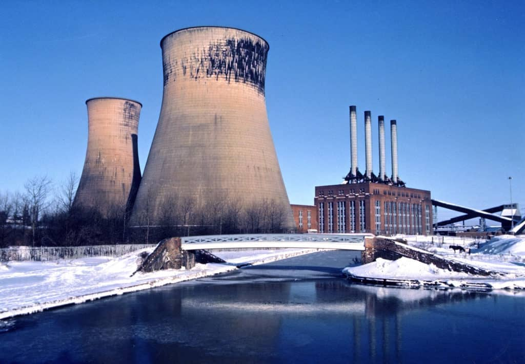 Ocker Hill Power Station, Titpon, winter 1985