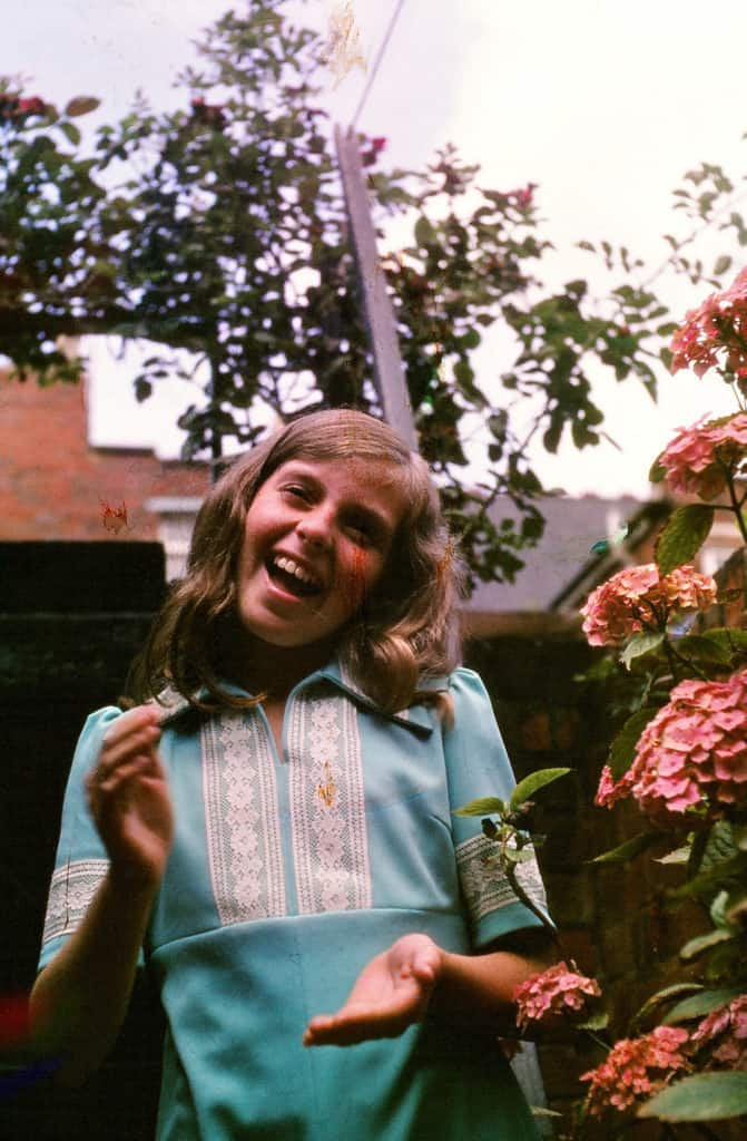 Lynn Hodgkins taken in Tipton, 1977