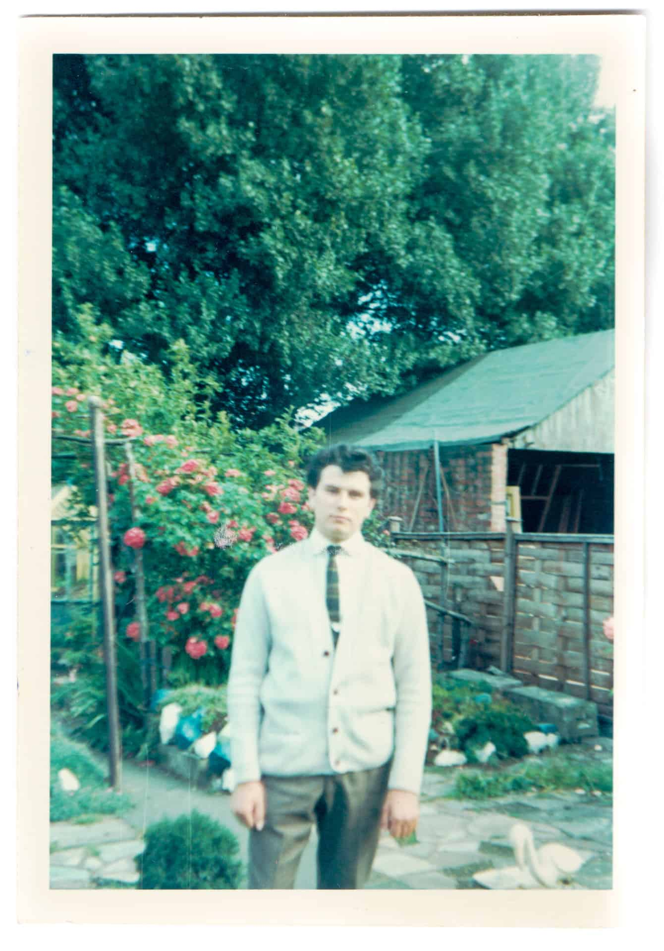 Alan picutred in about 1966 taken in Highbury Avenue, Oldbury.