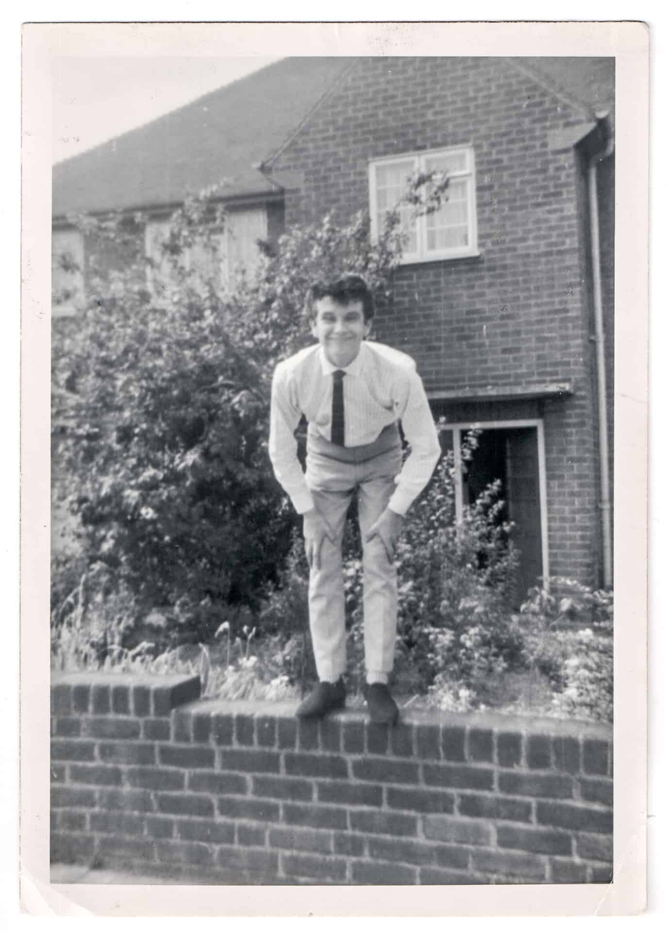 Alan pictured about 1965