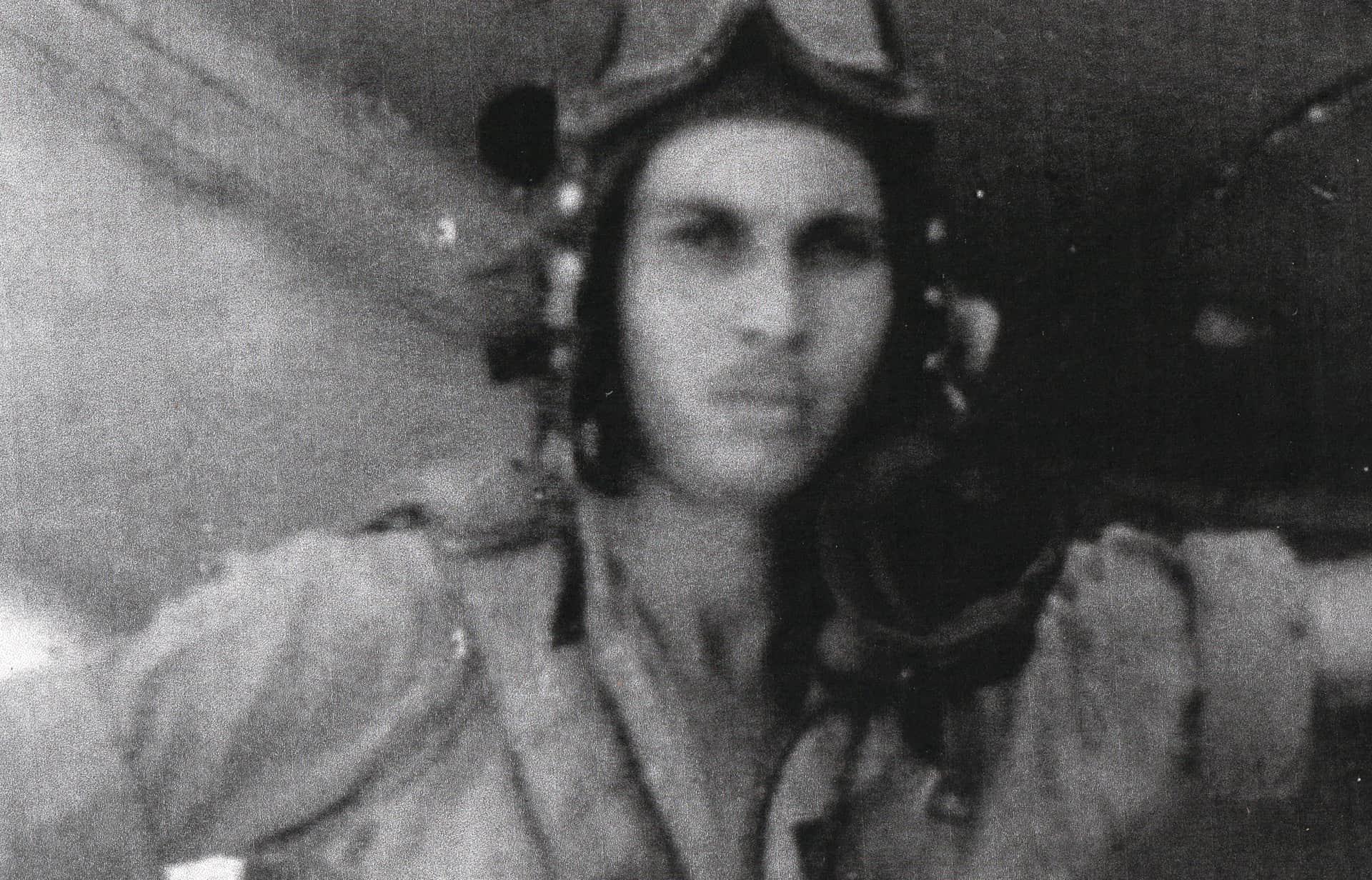 Kenneth Mayor Monro as pilot during WW11