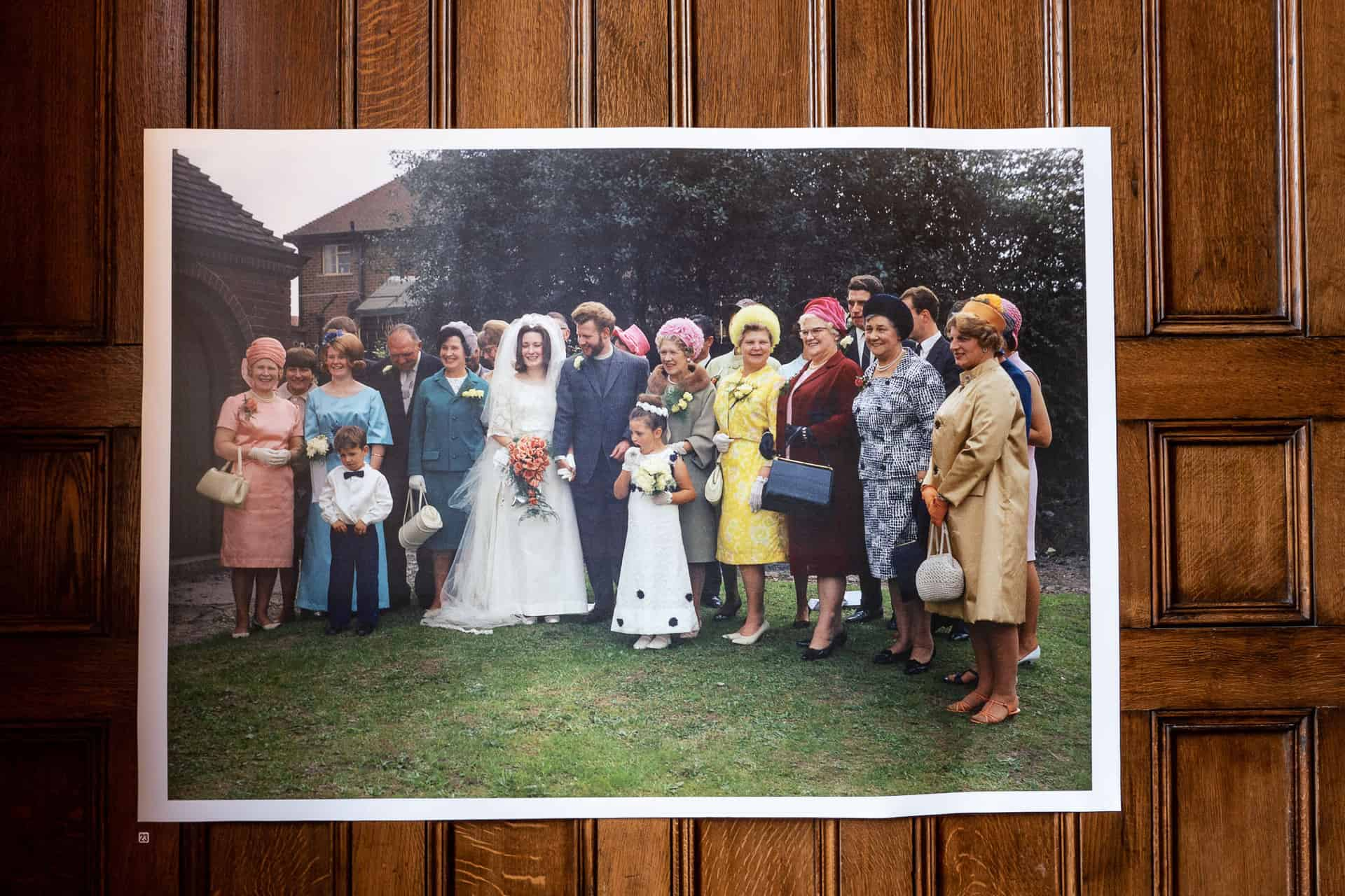 Ron Moss: The Wedding of Margaret Gwilliams and Jake Watson at Laurel Road Methodist church in August 1967.
