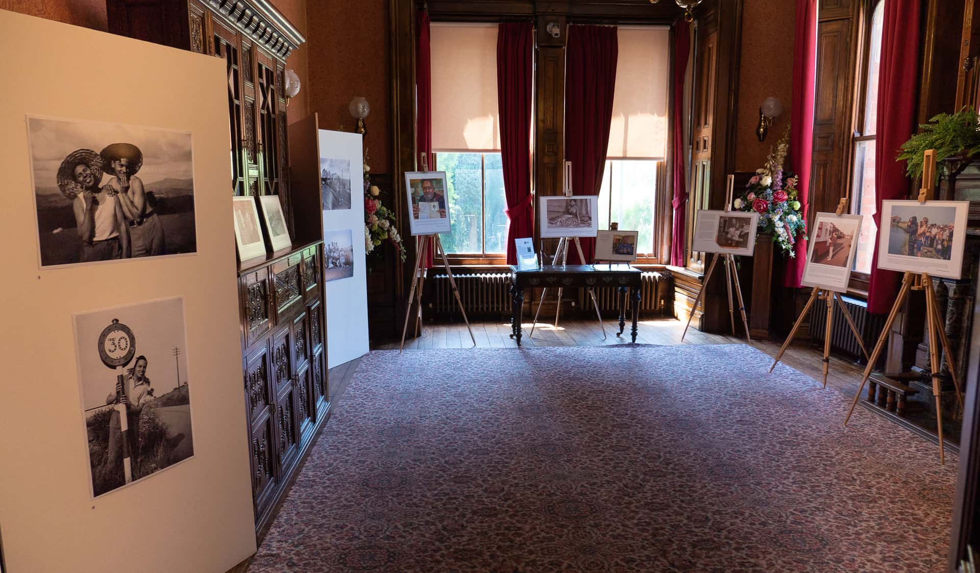 The Oak Room at Haden Hill House Museum