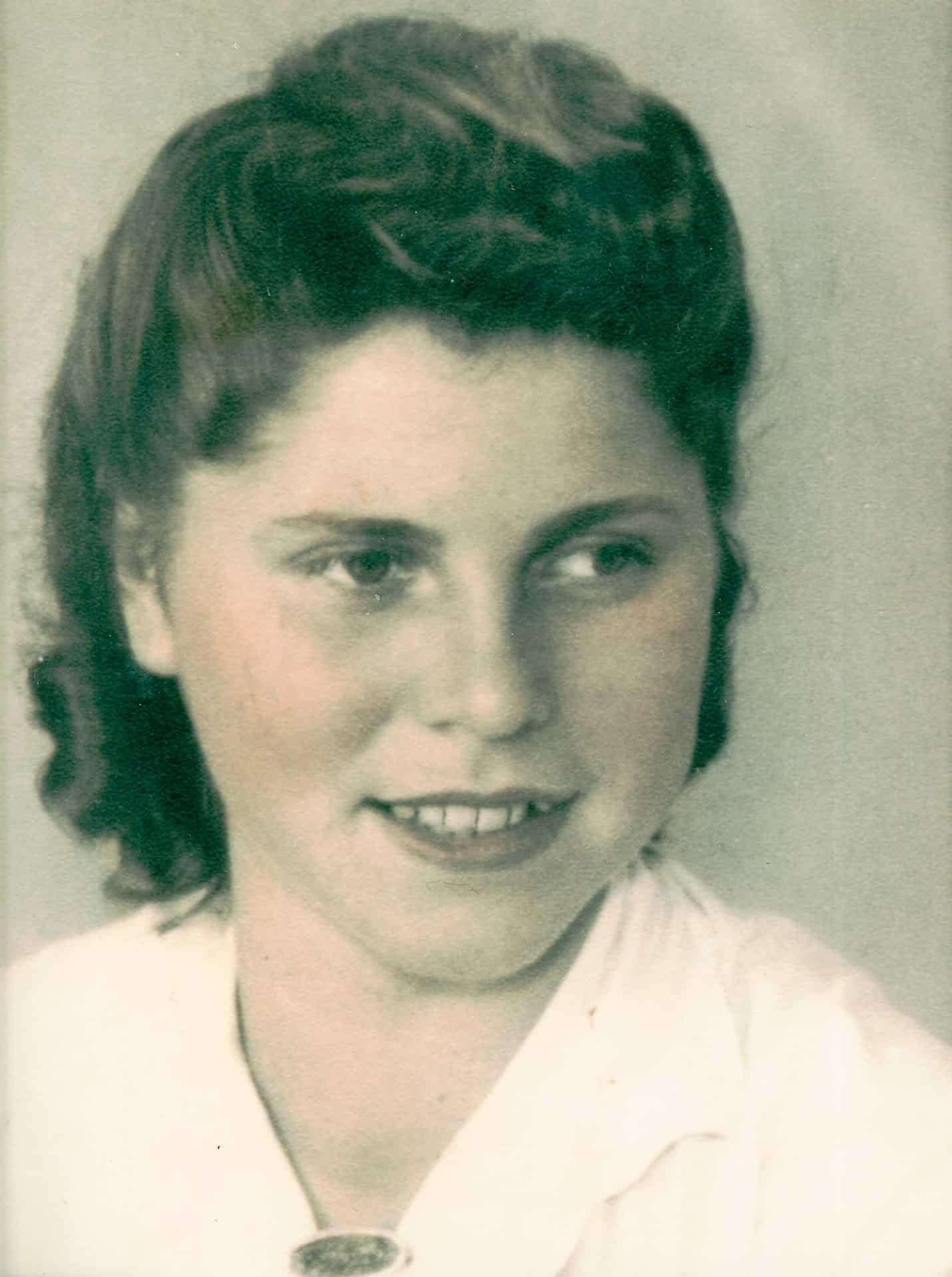 Jackie's mum Crystal Helena Von Sperl