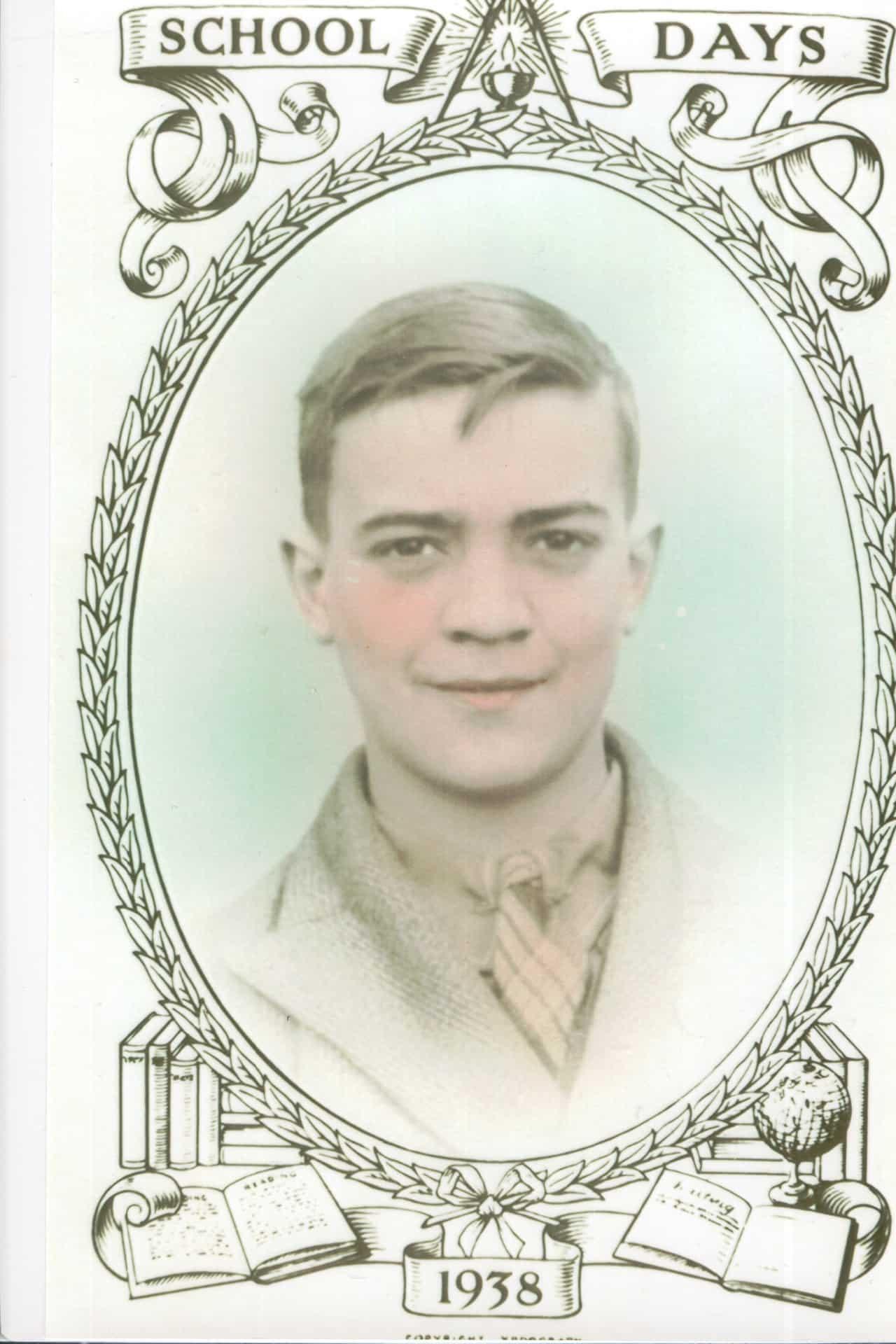 Jackie's dad, George Henry Duncan Holden