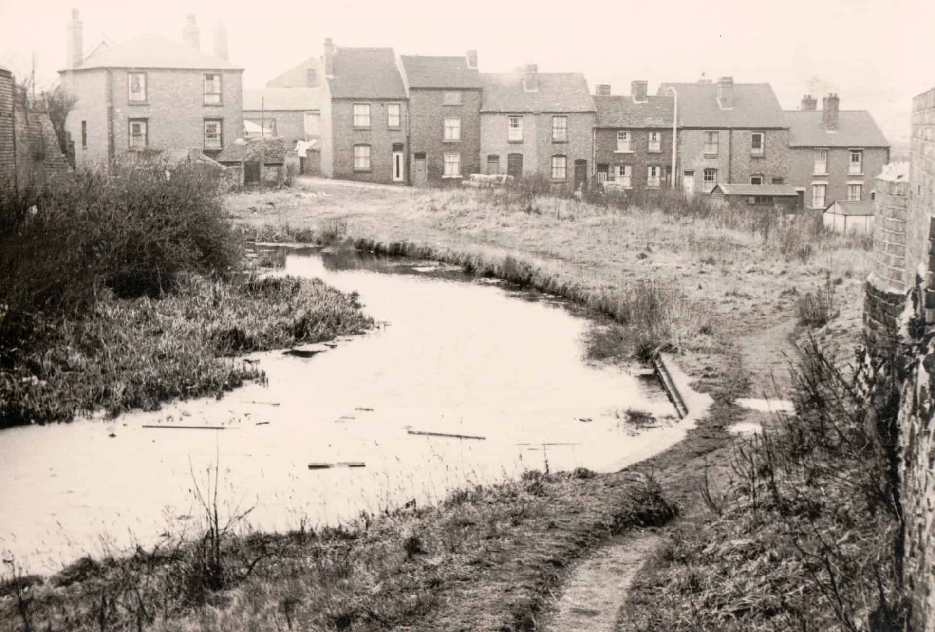 Bromford Lane Bridge, West Bromwich Street. Date unkown.