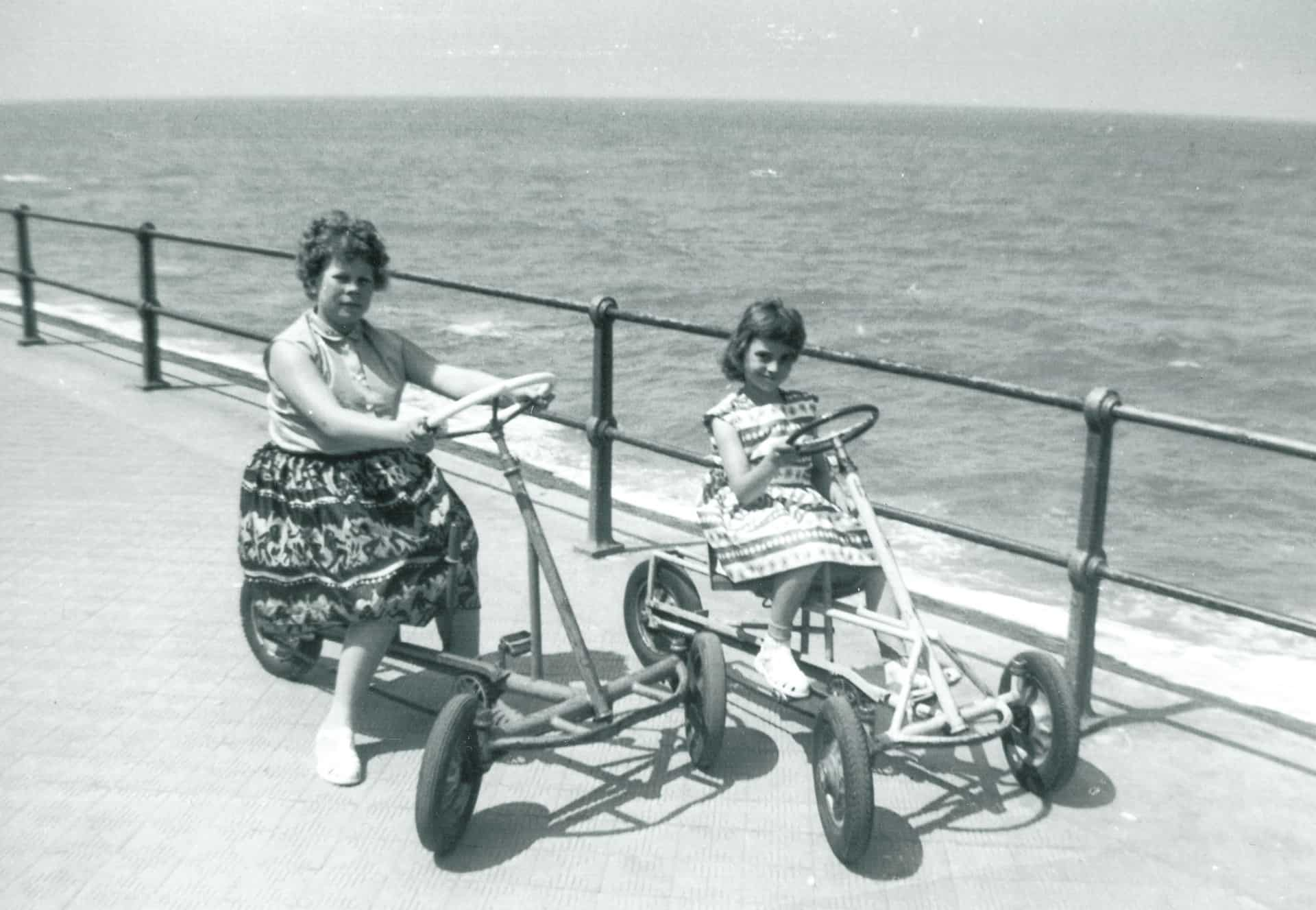 This was the year my mum died - 1960. My nan and grandad took us to Ostend for a holiday.