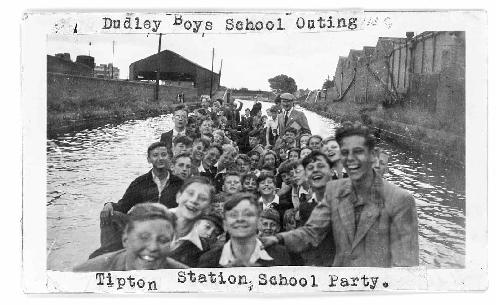 Schoolboys Day Out in Tipton, from the Will King Collection
