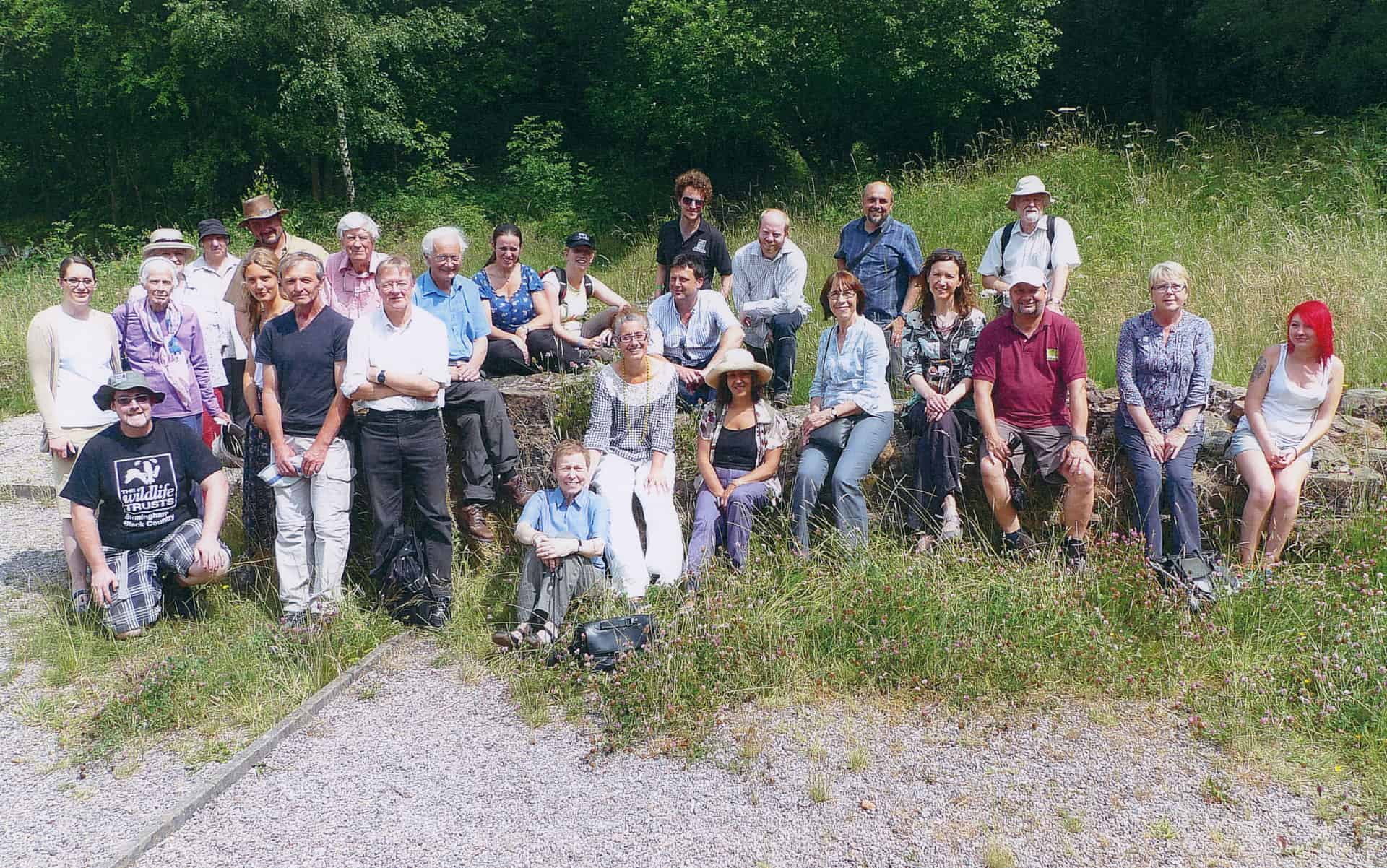 Gathering of people who had participated in any way with the 'Flora of Birmingham and the Black Country' book which was published in 2013.