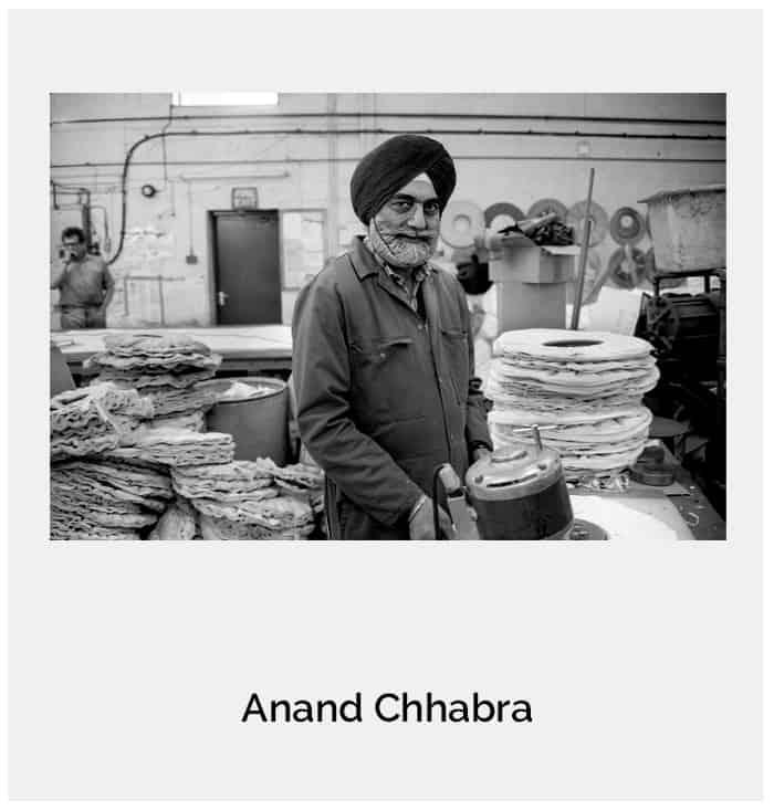 From the series 'Punjabi Workers' : Tarsem Singh Sembhi , Wolverhampton c1992.