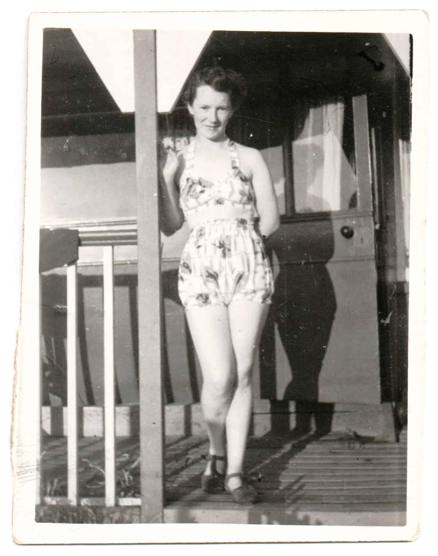 Violet, mid 1940s
