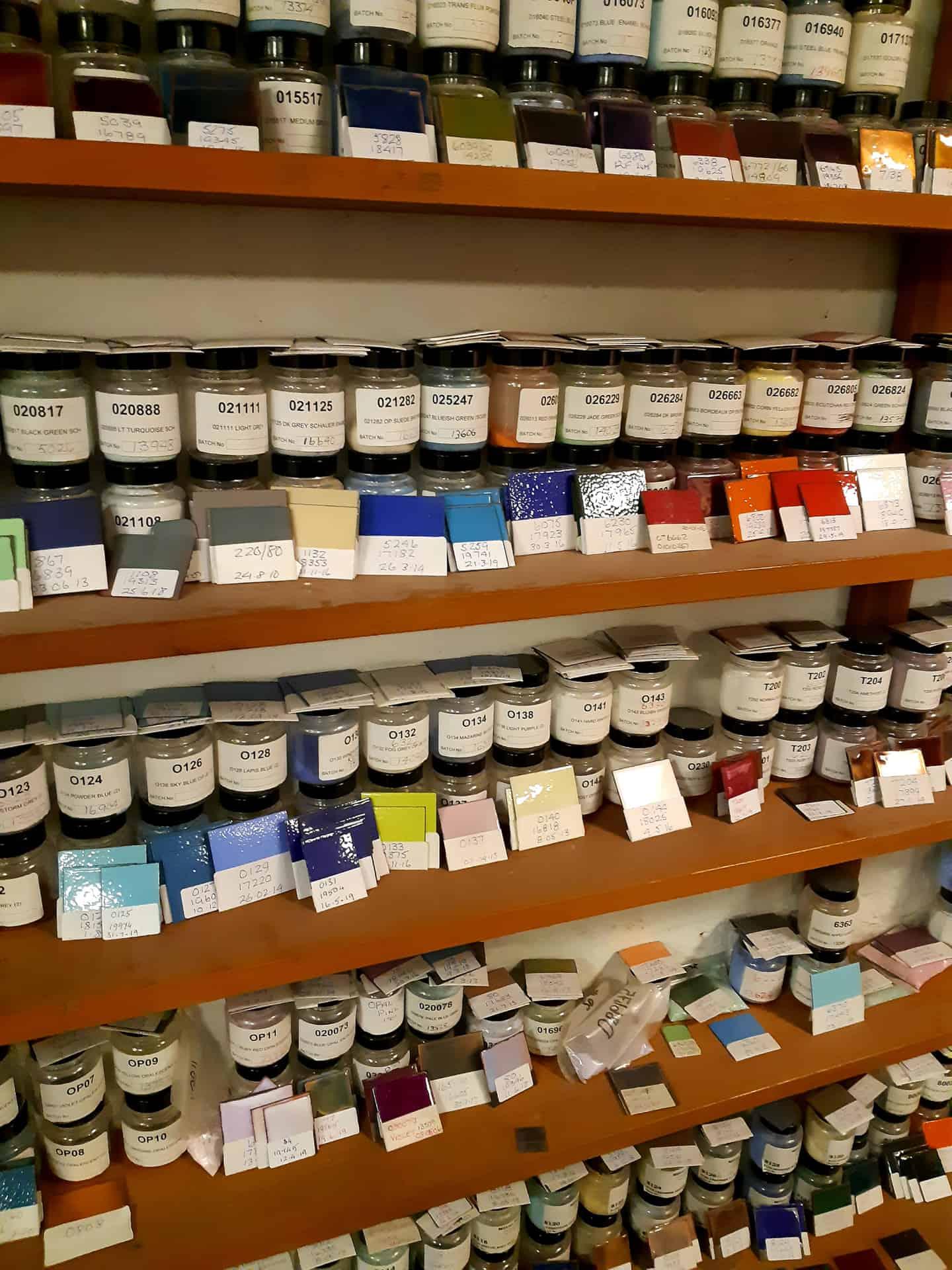Milton Bridge factory sample room