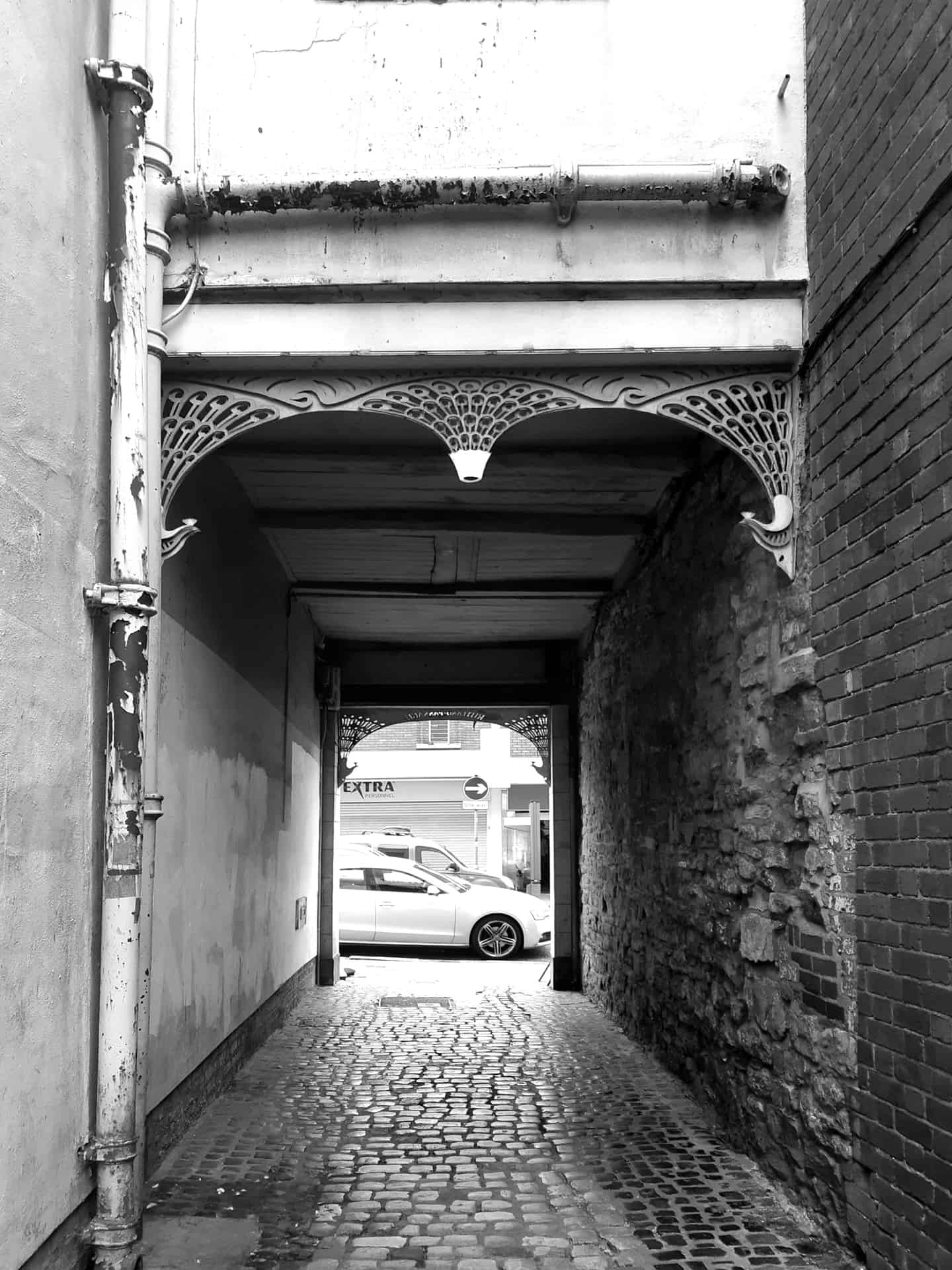 Rutland Passage, off Dudley High street