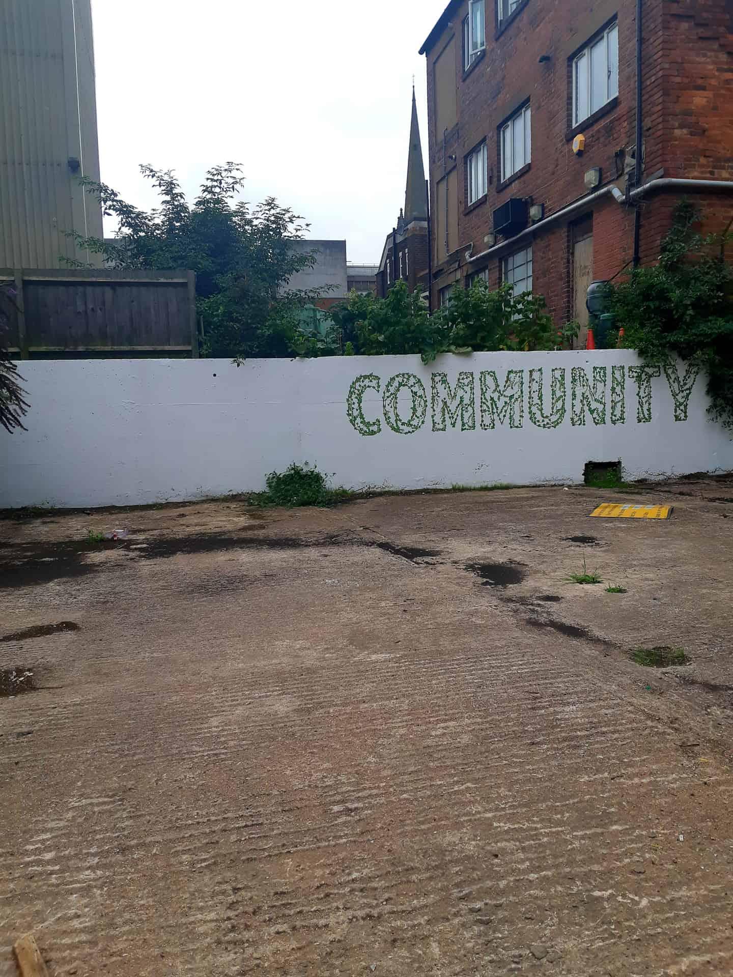 Gather Dudley CIC, community garden development.