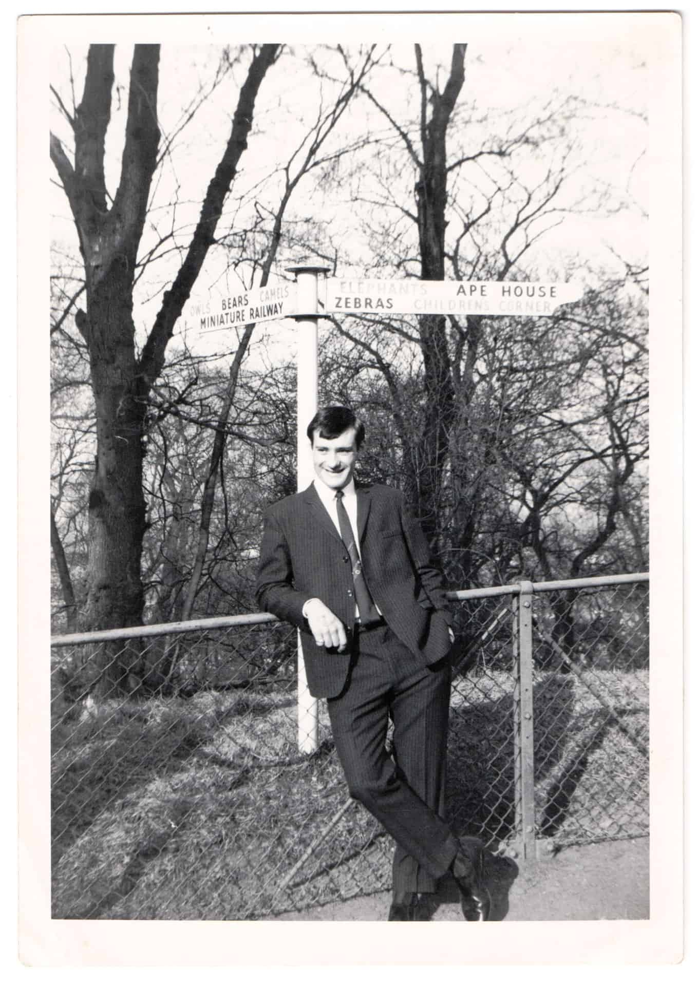 Dad at Dudley Zoo taken in 1965.
