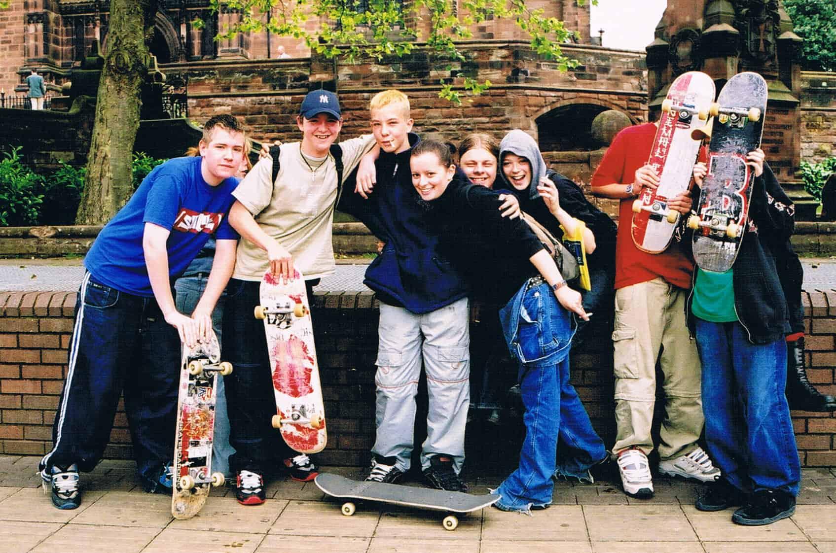 Skateboarders Wton 2002_
