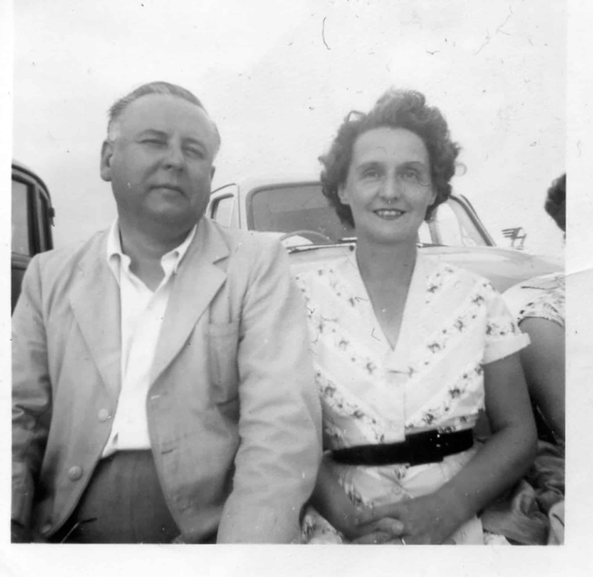 Charles Edward and Marjorie Potts, Bude 1963