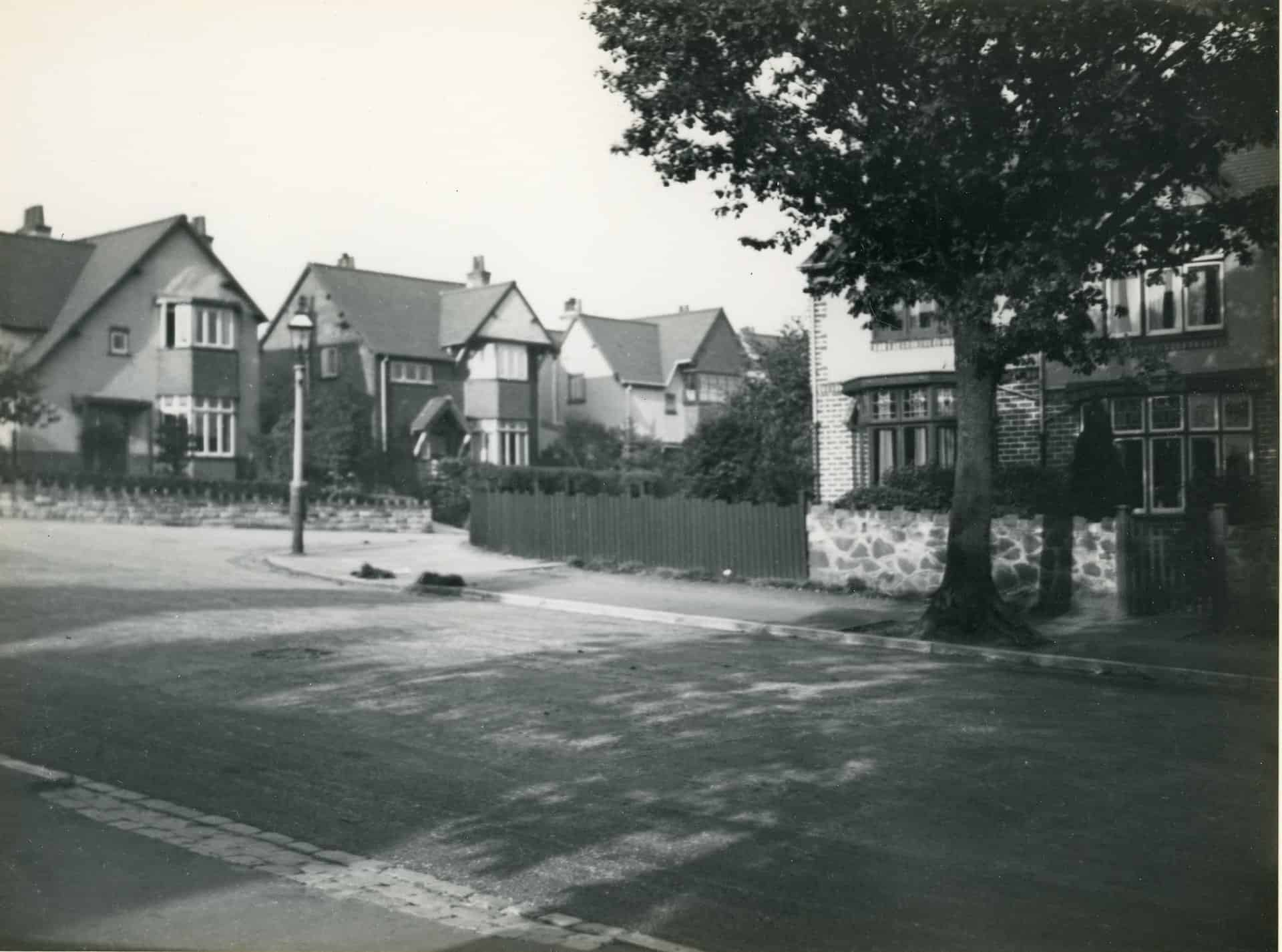 Monmouth Road, Bearwood, Smethwick, 3rd October, 1936.  Photographer: N.A.Smith  Photograph used with kind permission from Sandwell Community History and Archive Service