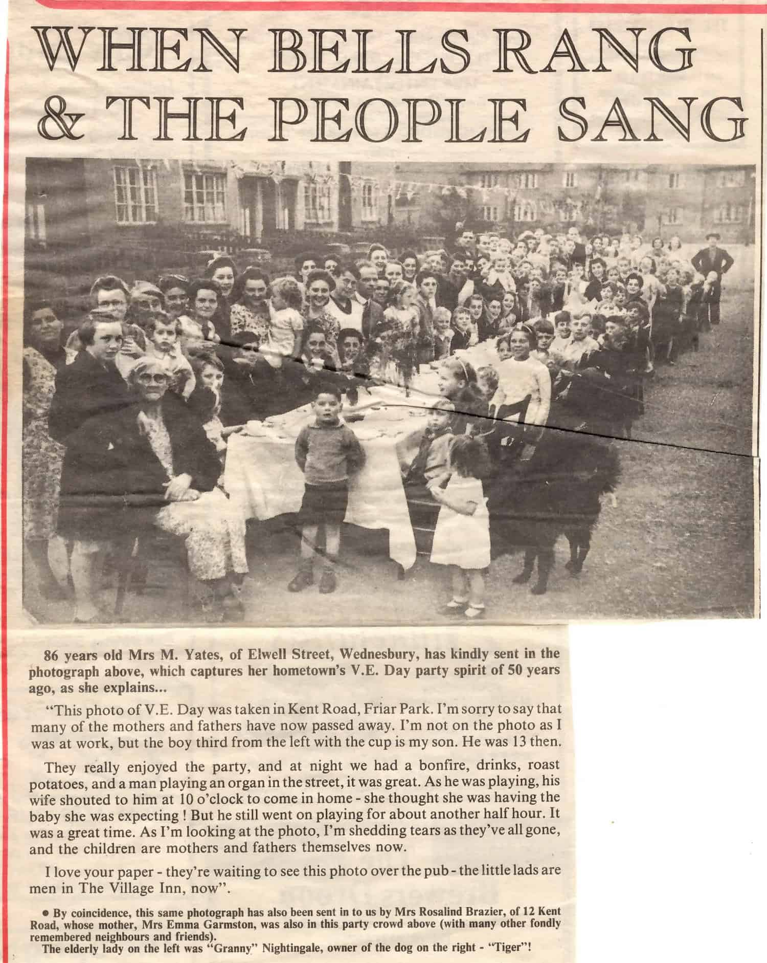 Clipping used courtesy of The Black Country Bugle