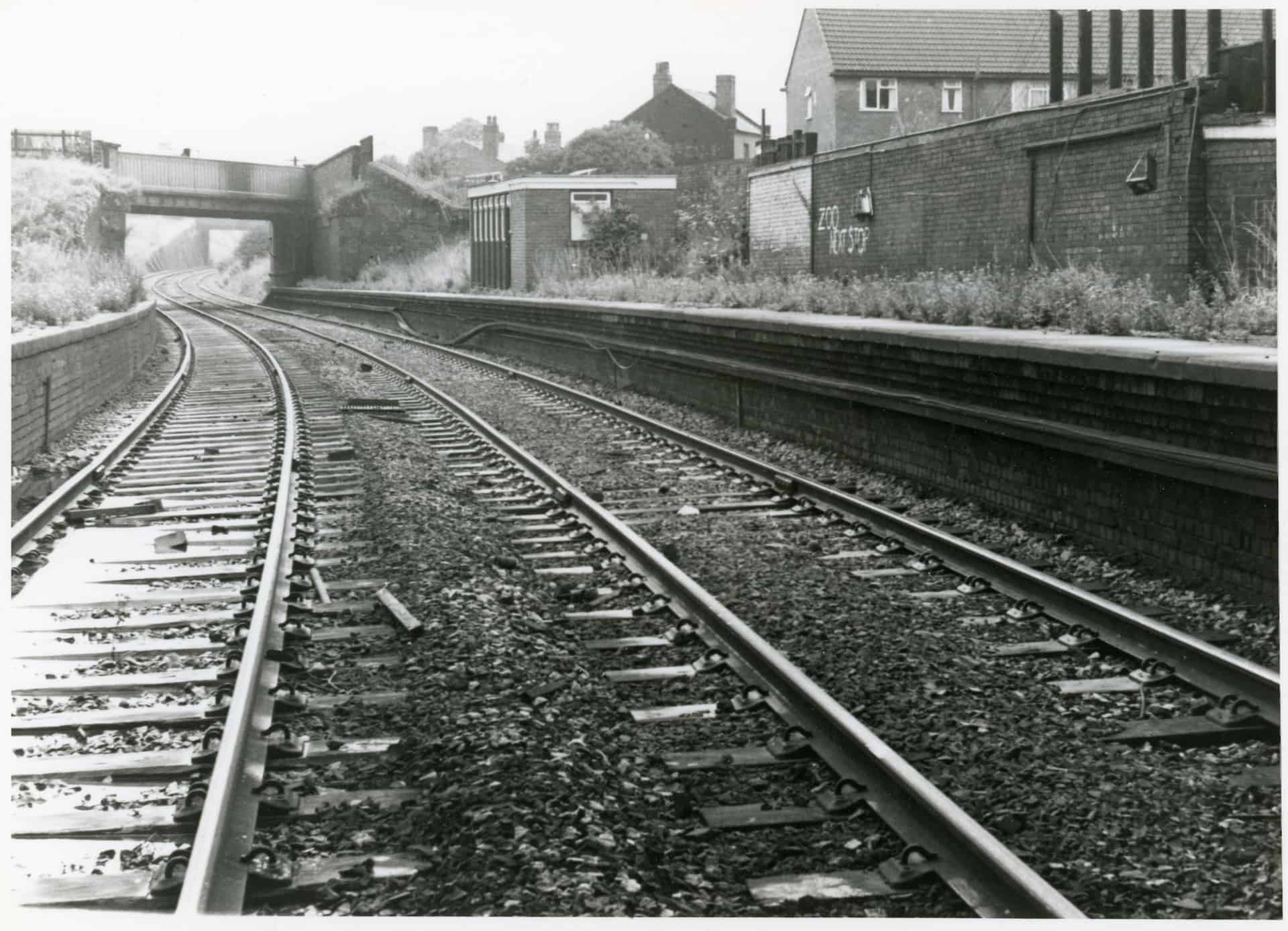 Railway Station, Dudley Port, Tipton, 1968, Photo: Alan Price  Provided by: Community and History Archive Service, Sandwell
