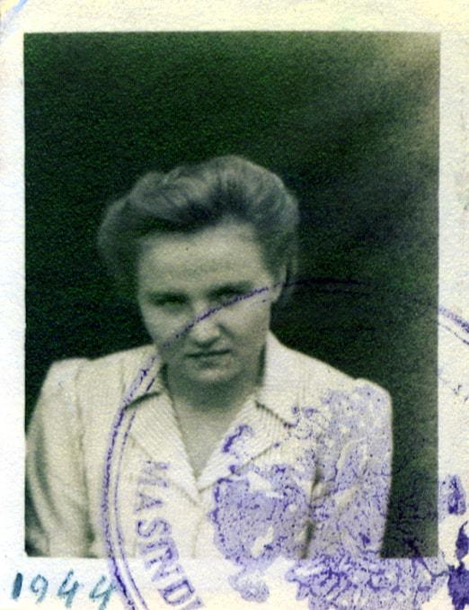 ID card, 1944
