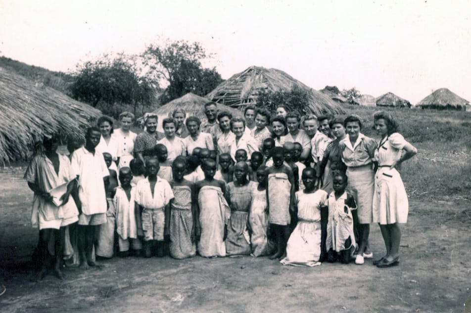 Masindi camp, Uganda, 1943