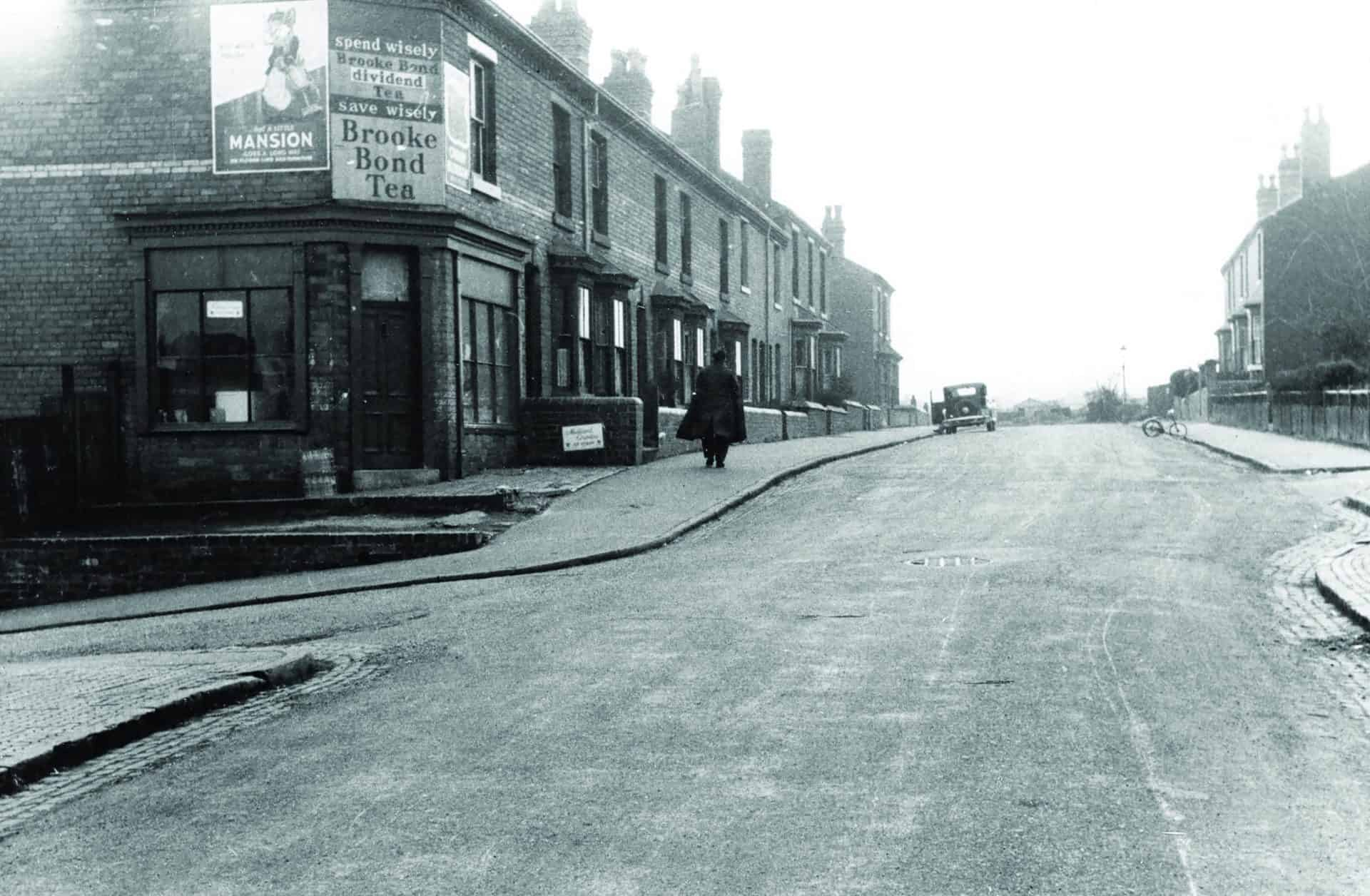 Ford Street, Smethwick, 20th March 1955  Photographer: Thomas A James