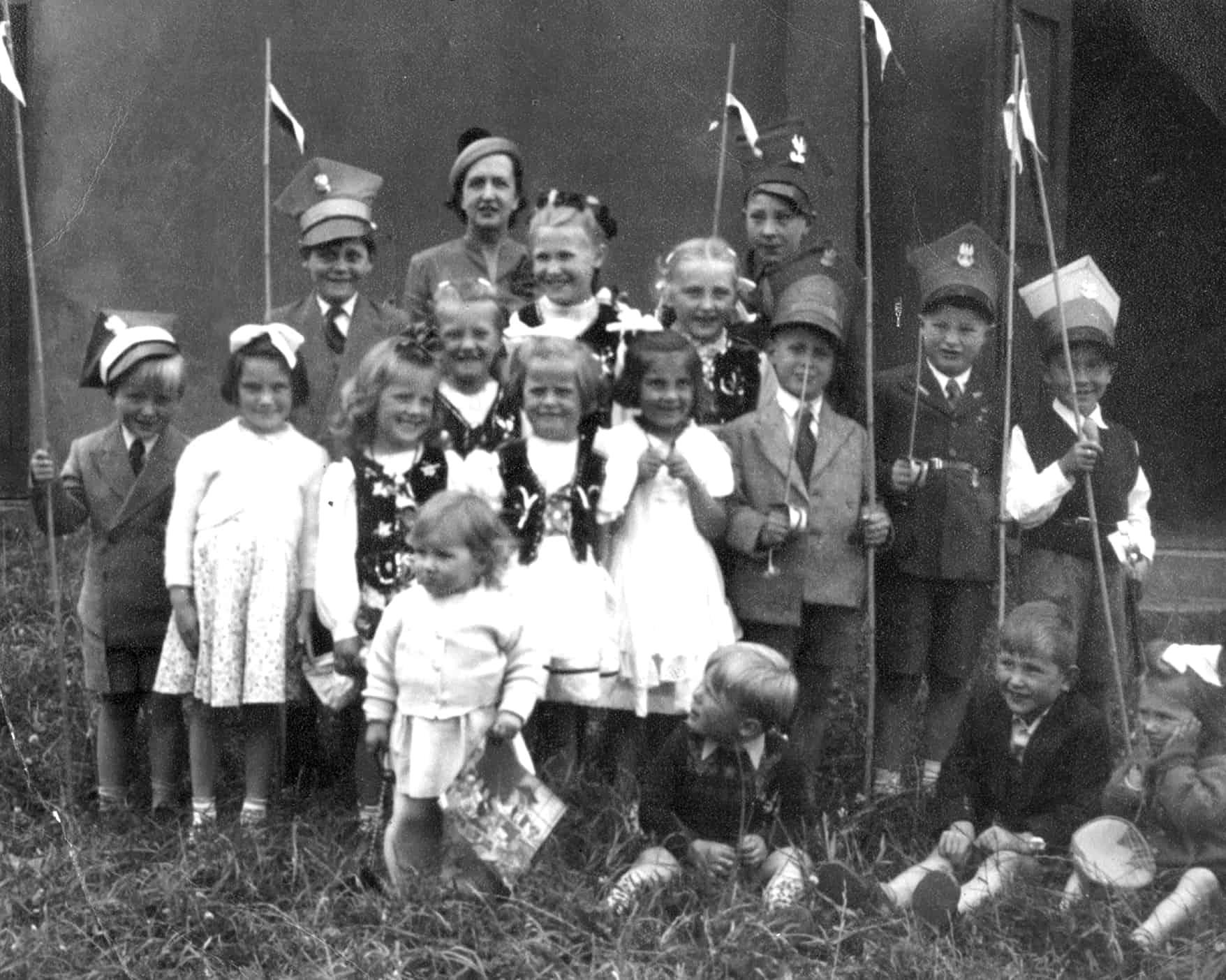 Polish School, Wrottesley Park, early 1950s.